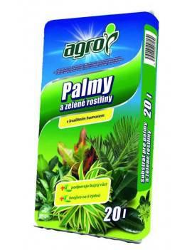 Substrát na palmy a zelené...